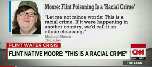 michael moore on flint michigan aired on CNN