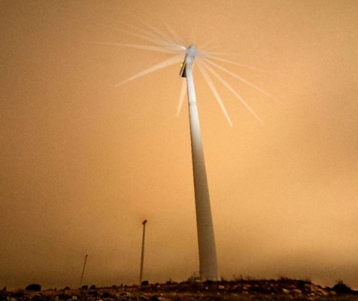 wind farm in Spain